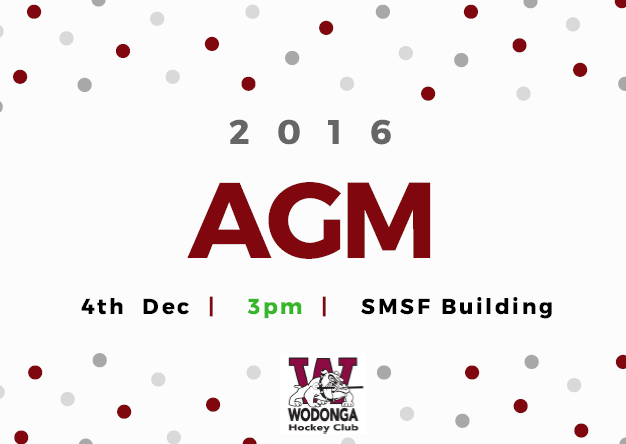 Wodonga Hockey Club 'AGM'