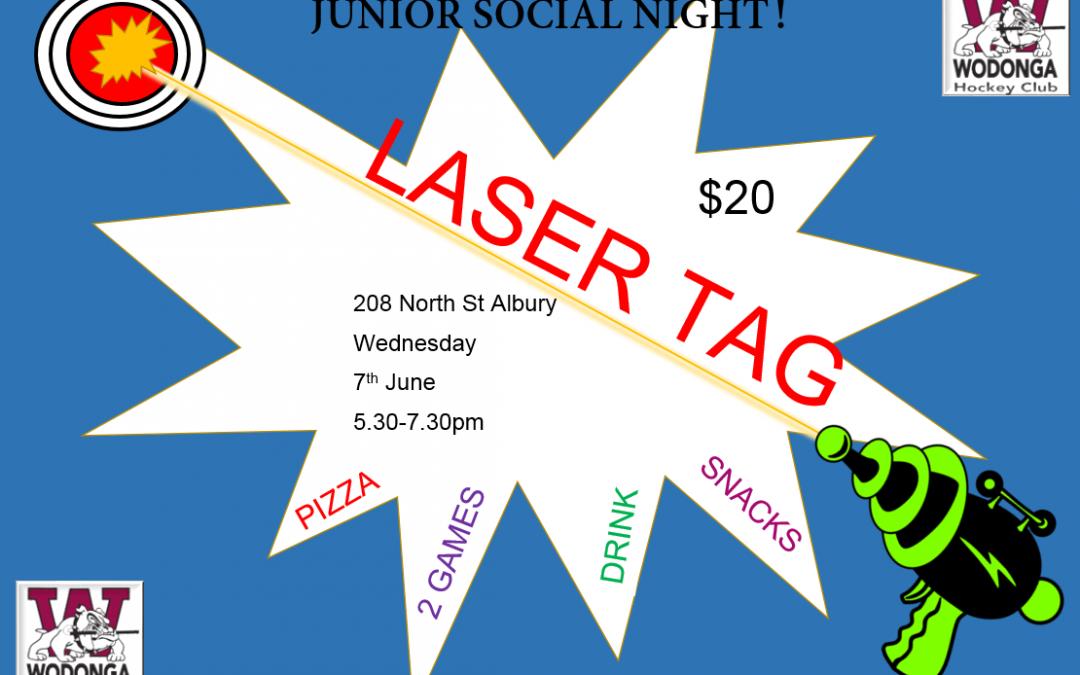 Junior Fun Night !