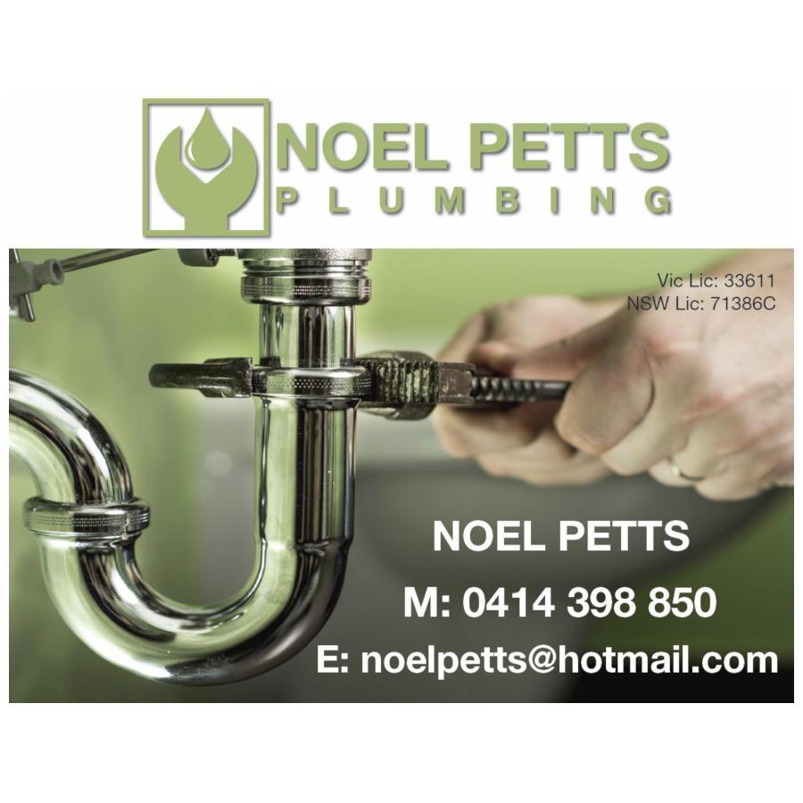 Noel Petts Plumbing Wodonga Hockey Club Sponsor