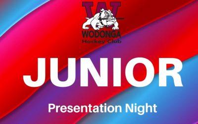 Junior Presentation Night